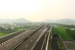 國6舊正交流道新增匝道 下午2時通車