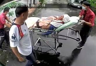颱風過境清屋頂 翁墜落地面受傷