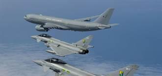美韓英聯合軍演 颱風戰機首次訪韓