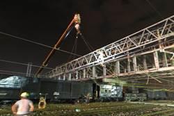 臺鐵花蓮站電車線深夜遭壓損斷電 已修復供電通車