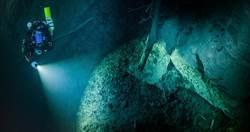 最深水下洞穴  捷克岩縫404米尚未到底