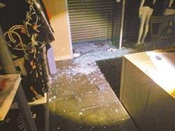 惡少夜襲 服飾店連2日遭槍擊