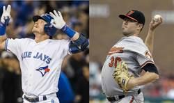 MLB》美東雙雄對決 金鶯碰藍鳥打頭陣