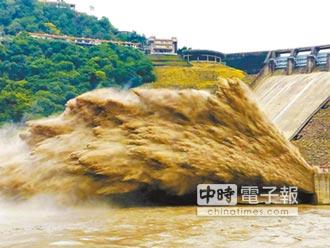 石門水庫排砂 新北議員:淡水河遭殃