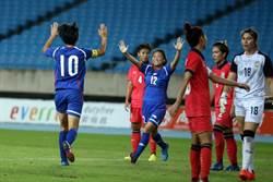 教頭缺陣 中華女足友誼賽慘輸泰國