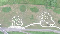 三重鴨鴨公園再進化  地景藝術超吸睛