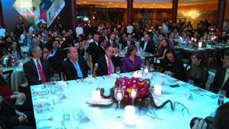廖世傑參加墨西哥國際藝術節開幕酒會