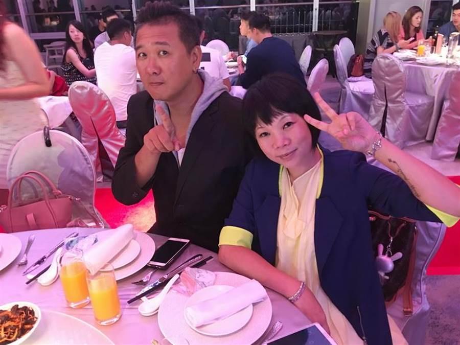 擔任多年SBL主持DJ的林志彥,也跟朱億宗有著不錯交情。(黃及人攝)