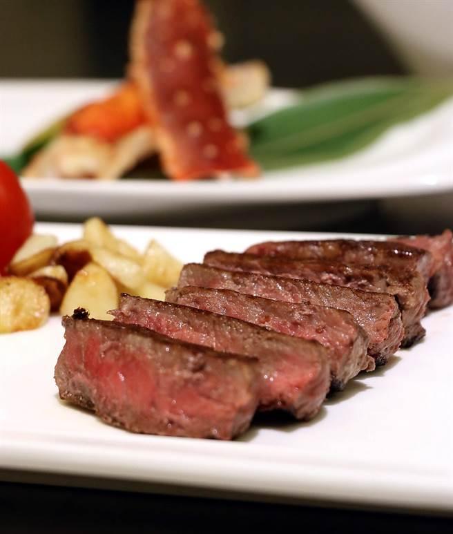 「Prime級老饕肋眼牛排」所用食材即肋眼上蓋肉。(圖/豐邑喜來登酒店)