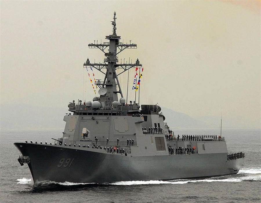 南韓神盾級驅逐艦世宗大王號。(照片來源:美國海軍)