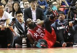 NBA》哈登轉打控衛 是因找不到搭檔