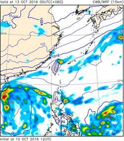 菲律賓東側有熱帶擾動 吳德榮:電腦模擬可能形成颱風