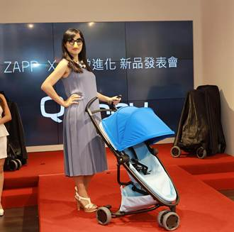 Quinny發表新車ZAPP X  宅女小紅搶頭香成為全球首位車主  時尚感爆棚