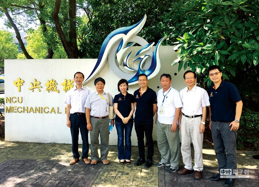 慶鴻與中央大學機械工程學系展開產學合作。圖/蔡榮昌