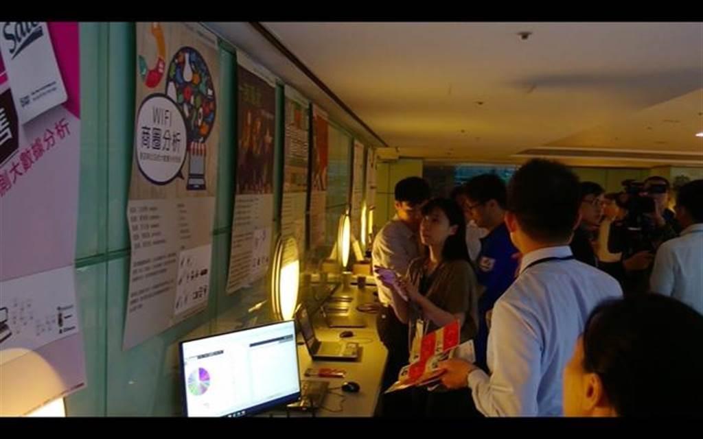 本次鴻海FG次集團旗下的宏康智慧的大數據養成班果發表會,展現出大數據應用廣度和人才學習深度。