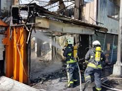 台中西屯廢棄空屋火警 未傳人員受困