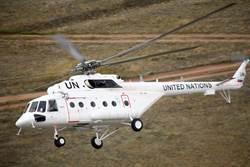 中共首度派直升機參與維和行動