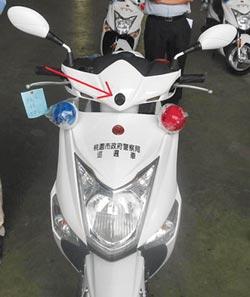 警用機車電眼 不取締交通違規