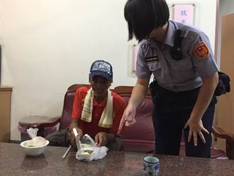 警方以熱食勸誘 竊盜通緝犯投案