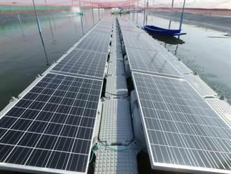 再生能源夯 法商在台推水面漂浮式太陽能系統