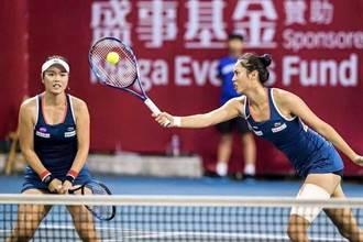 香港女網賽》詹家姊妹絕地逆轉秀 剋日闖決賽