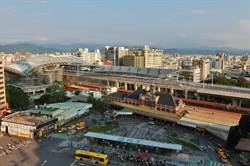 台中新站前廣場開發  107年展新貌