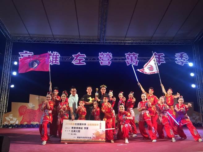 「2016高雄左營萬年季」台客舞萬年。(吳江泉翻攝)