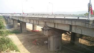 苗栗北勢橋重建 北上車道17日起封閉