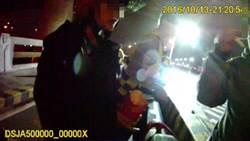 賴皮女遇警方酒測超標  哭喊要跳河