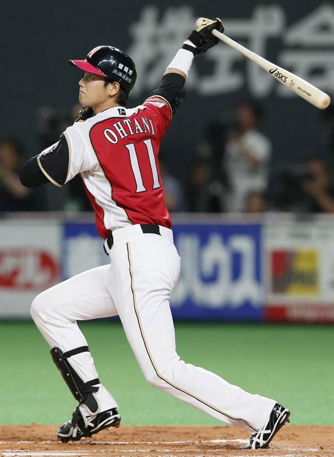 大谷翔平可能用打者身分對決黑田博樹。(本報資料照)