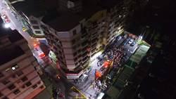 中市太平區大樓火警 近百戶暗夜逃生1死3嗆傷