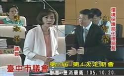 台中空污紫爆 市議員陳淑華要求環保局建立一套sop