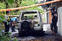 陸客減沒團可帶 遊覽車司機燒炭釀火燒車身亡