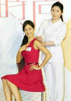 Janet任流感疫苗大使 親自示範正確施打方式