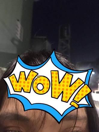 「空氣瀏海」好「空虛」!正妹額頭被剪成這樣