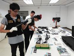 1人兵工廠 委外代工改造7把長短槍