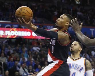 NBA》利拉德39分逞威 拓荒者逆襲爵士