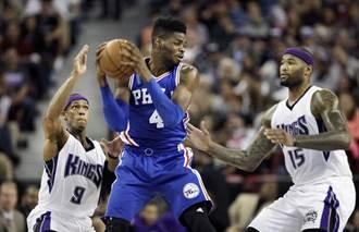 NBA》東區爐主76人狠狠打臉老七活塞