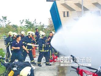 化學災害搶救訓練 強化指揮應變