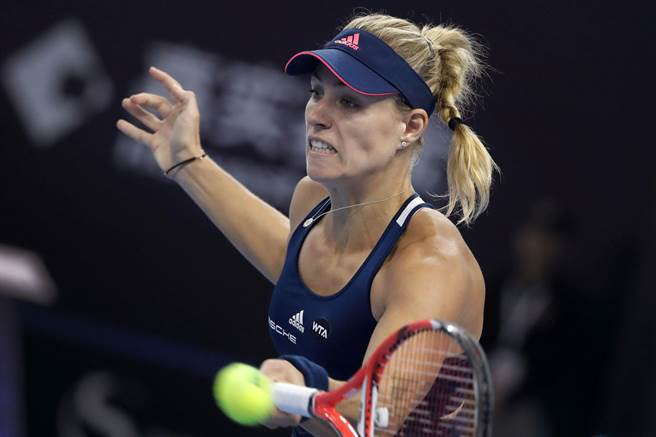 WTA年終總決賽女單8強由現任球后、德國選手可貝兒領銜。(美聯社資料照)