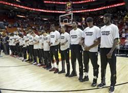 NBA》黑人反國旗抗爭 女歌手開第一槍