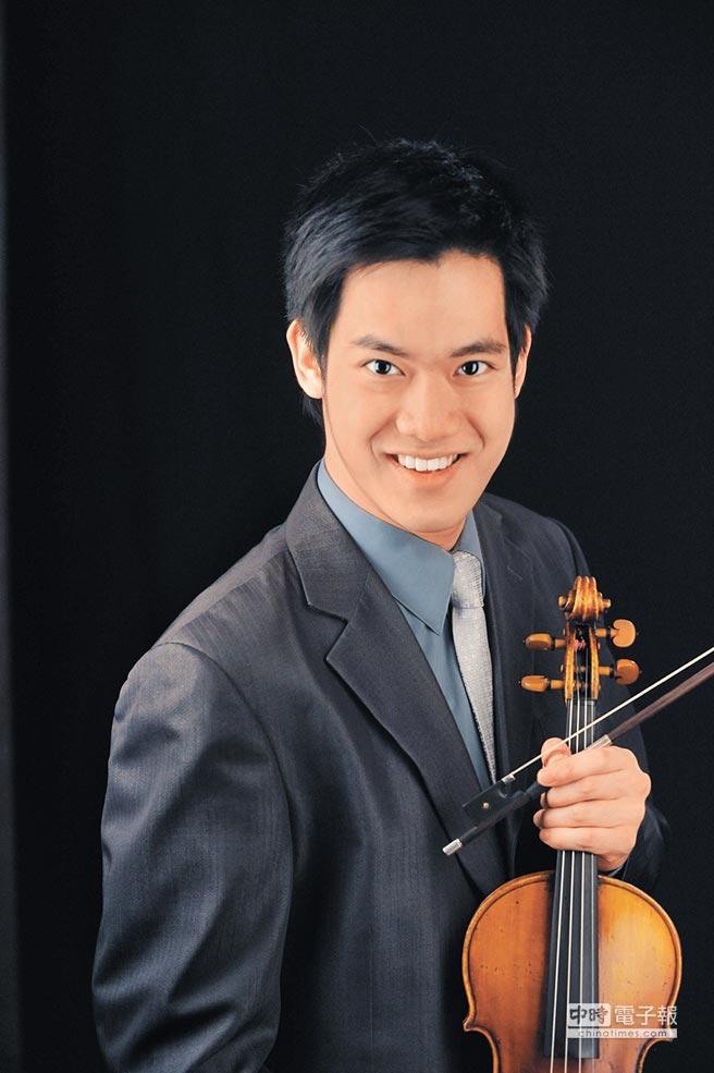 台灣小提琴新秀林品任成績出色,成績可圈可點。(林品任提供)