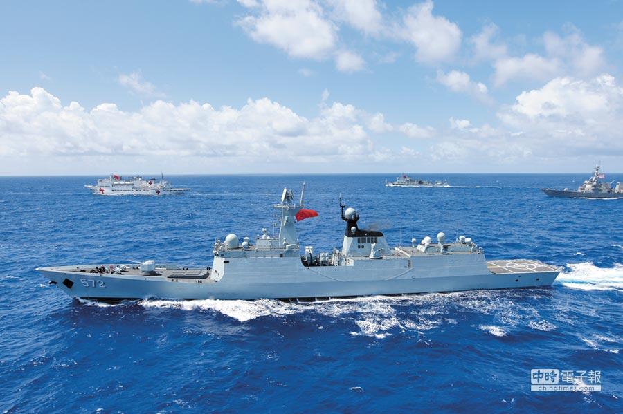 大陸海軍衡水艦。(中新社資料照片)