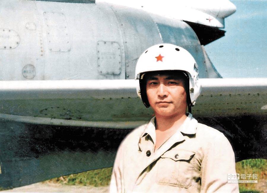 2001年4月1日,南海「撞機」事件中犧牲的大陸飛行員王偉。(新華社)
