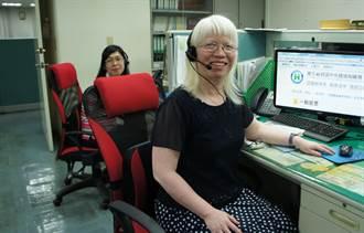 中市勞工局助視障者成為電服高手