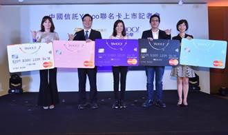 中信Yahoo聯名卡 3大網購平台最高回饋6%