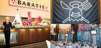 千陽號開進台灣!「航海王主題餐廳」落腳台北東區