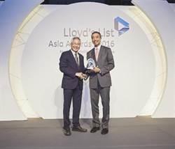 東方海外榮獲勞氏年度最佳亞洲集裝箱運輸營運商大獎