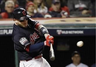 MLB》裴瑞茲雙響炮 印地安人6分勝小熊