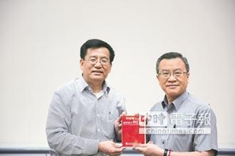 中新社社長率團 訪旺旺中時集團